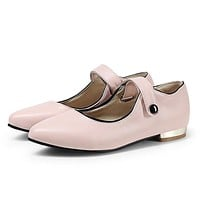 Mary Janes Low Heel Pumps Shoes 8322