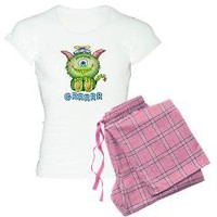 Beanie Monster Women's Light Pajamas> Beanie Monster> AnniesDoodlebugz.com Online Store