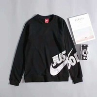 ONETOW Nike Pullover Men With Pocket Long Sleeve Embroider Fashion Casual Sweater G-A-GHSY-1