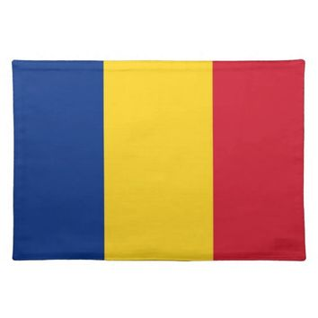 Romanian Flag on MoJo Placemat