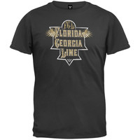 Florida Georgia Line - Etched Plate Wings T-Shirt