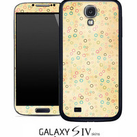 Vintage Orange Dotted Skin for the Samsung Galaxy S4, S3, S2, Galaxy Note 1 or 2