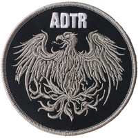 A Day To Remember Men's Golden Eagle Embroidered Patch Grey