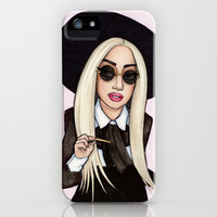 Lady G in NYC iPhone & iPod Case by Helen Green