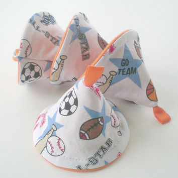 Caution Caps Set of 4 All Star Sports Diaper Changing Accessory aka Pee Pee Tee Pees and Tinkle Tents