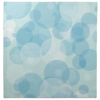 Blue Bubbles Napkin