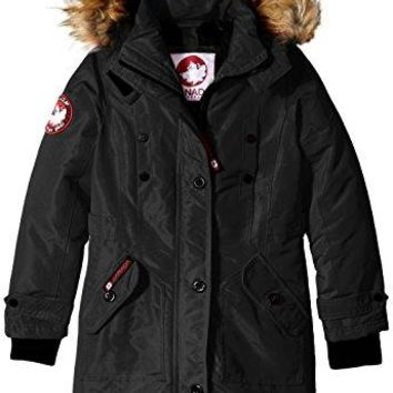Canada Weather Gear Girls' Long Outerwear Jacket (More Styles Available)  canada goose women long