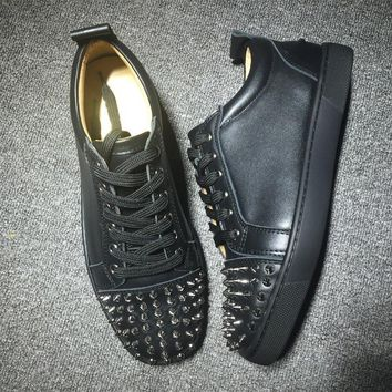 Cl Christian Louboutin Louis Junior Style #2031 Sneakers Fashion Shoes