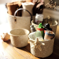 Hand-weaved  Storage Box/Repose Harmonized Basket(J101)