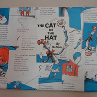 The Cat In The Hat Art Canvas