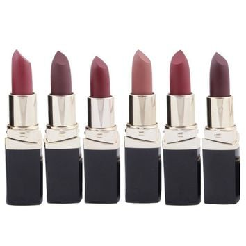 Sexy Frosted Waterproof Long-lasting Pigment Velvet Lipstick Kits