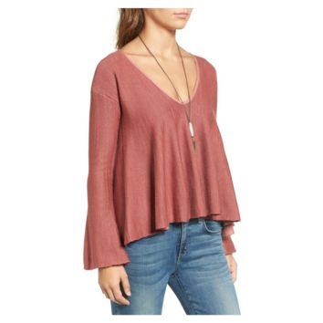 Free People Women's Rose Sundae Pullover