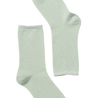 Linnea Lurex Sock | Socks | Monki.com