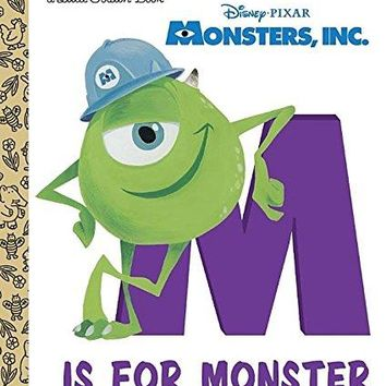 M Is for Monster (Little Golden Books)