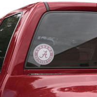 Alabama Crimson Tide Perforated Window Decal