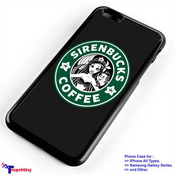 mermaid sirenbuck starbuck coffee - Personalized iPhone 7 Case, iPhone 6/6S Plus, 5 5S SE, 7S Plus, Samsung Galaxy S5 S6 S7 S8 Case, and Other