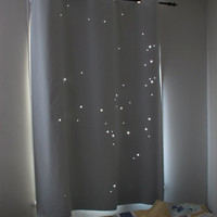 "X-LARGE - CAPRICORN constellation. Twinkle Curtain. Best Kids Product of 2011. Toddler nap curtain. Size: up to 54""x72"" (sizes-54"" or 44"")"