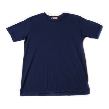 Frayed Tee - Navy - Norman Russell