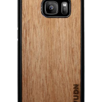 Slim Wooden Samsung Galaxy Case Black Phone Case