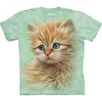 Kitten Portrait Kids T-Shirt