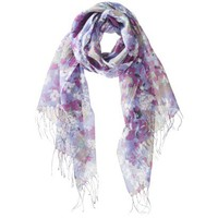 Mossimo Supply Co. Quirky Floral Scarf - Multicolor