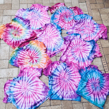 Tie Dye Crop Top Tye Dye Cropped Top Hippie 70s Brandy Melville