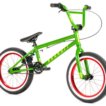 "UNITED 2015 Recruit 16"" Gloss Green BMX Bike"