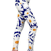 Daisyland Lucy Floral Printed Performance Leggings - Women