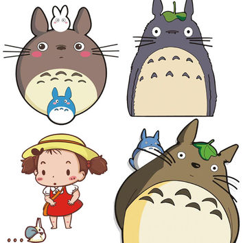 Totoro stickers 2016 New sticker muraux en francais pour salon barri re de bain for Car styling tools 80's hwd