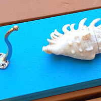 Seashell Towel Hook Beach Decor Bathroom Towel Hook