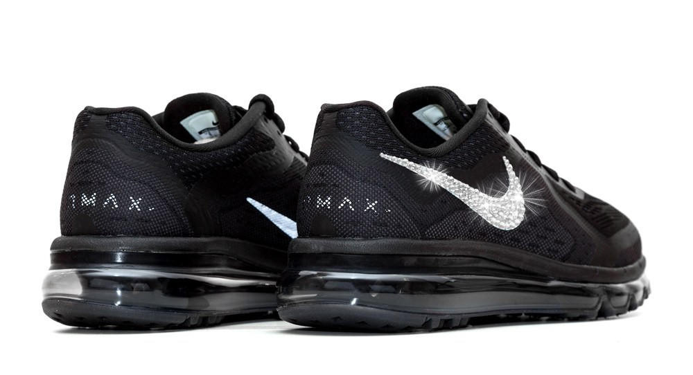 Nike Air Max 360 Running Shoes By Glitter Kicks - Customized With Swarovski  Crystal Rh 973bbe1c0