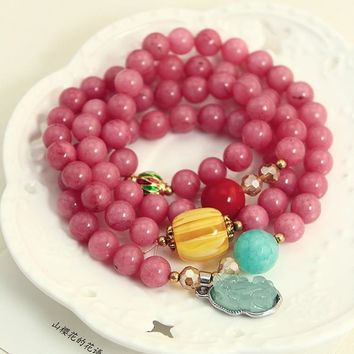 Stylish Awesome Hot Sale Shiny Gift New Arrival Great Deal Korean Gifts Bracelet [6057079809]