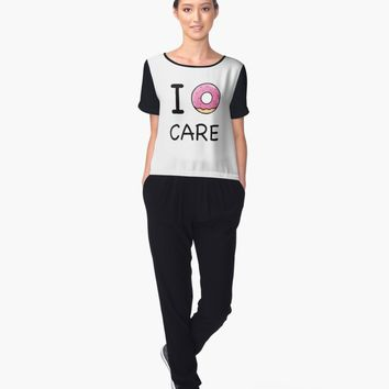 'I Donnut Care Tshirt ' Blusa by vanessavolk