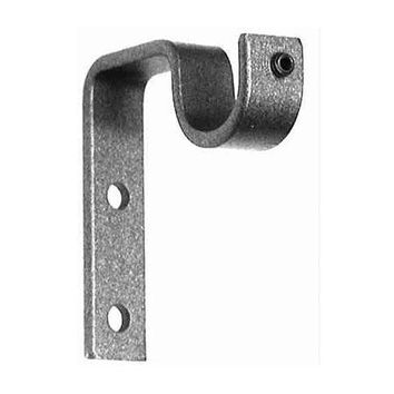 ONA Drapery Cafe Wrought Iron Curtain Rod Bracket