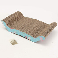Corrugated Paper Cat Scratcher Toy Cat Bed