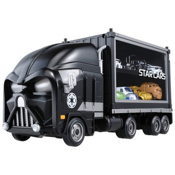 Star Wars: Star Cars - Car Carrier Trailer - Darth Vader By  Takara Tomy