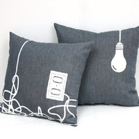 Supermarket - Wired pillow from studioooij