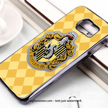 Hoghwart School - Hufflepuff Samsung Galaxy S6 and S6 Edge Case