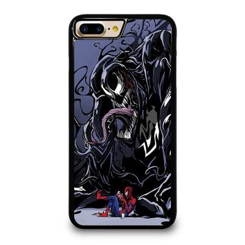 SPIDERMAN VENOM MARVEL iPhone 4/4S 5/5S/SE 5C 6/6S 7 8 Plus X Case