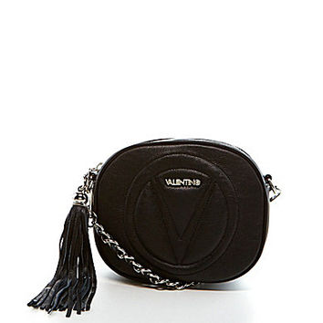 Valentino by Mario Valentino Nina Petite Logo Quilted Cross-Body Bag