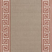Alfresco Area Rug Red