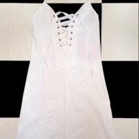 SWEET LORD O'MIGHTY! THE XTINA DRESS IN WHITE