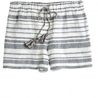 Jenora Yarn Dyed Stripe Linen Short | Calypso St. Barth