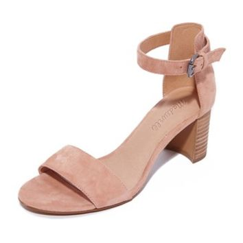 Lainy Ankle Strap City Heels