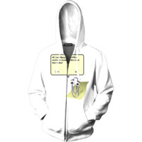 Clippy Zip Up Hoodie