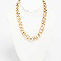 Colored Chain Necklace
