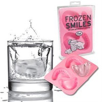 New Frozen Smiles Ice Cube Tray Denture Mold Party Fun