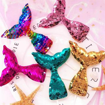 10Pcs Sequins Mermaid Tail Cake Decoration Cake Insert Happy Birthday Baby Shower Party Decorations DIY Bachelorette Party .B