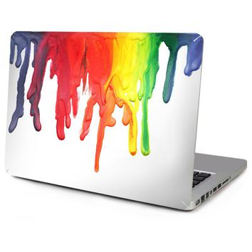 Hot Sale Top Vinyl Decal Laptop Abstract Graffiti Skin For Macbook Sticker Air Pro Retina 11 13 15 New Mac 12 Logo Cut Out
