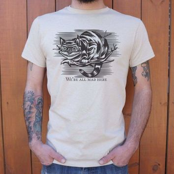 Mens Cheshire Cat Madness T-Shirt